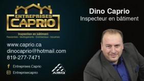 Inspection en bâtiments Excellence  Dino Caprio | Inspecteurs en bâtiment