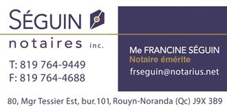 Francine Séguin | Notaires