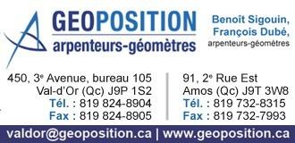 Geoposition | Arpenteurs-géomètres