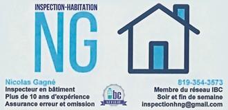 Inspection habitation NG | Inspecteurs en bâtiment