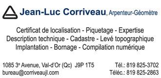 Jean-Luc Corriveau | Arpenteurs-géomètres