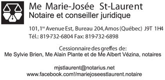 Marie-Josée St-Laurent | Notaires