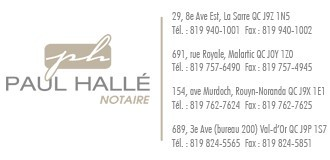 Paul Halle Notaire | Notaires