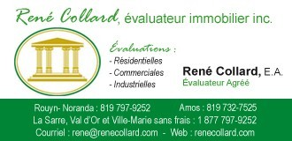René Collard | Évaluateurs agréés